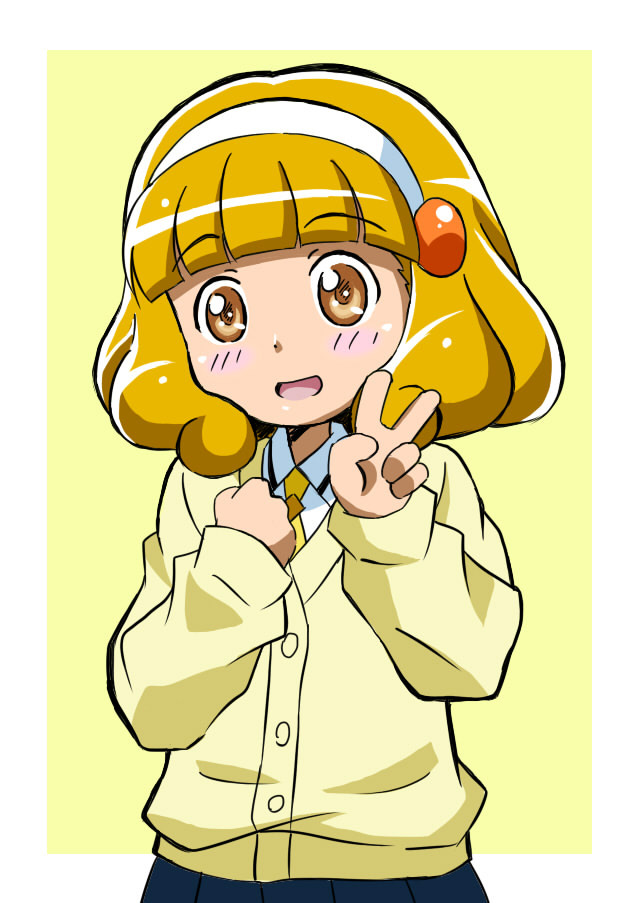 Tags: Anime, Pixiv Id 561734, Smile Precure!, Kise Yayoi, Fanart From Pixiv, Pixiv, Fanart