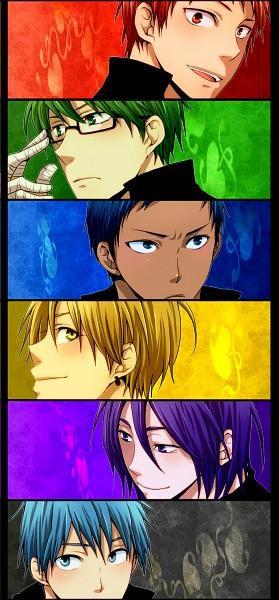 Tags: Anime, Pixiv Id 2178287, Kuroko no Basuke, Murasakibara Atsushi, Kuroko Tetsuya, Akashi Seijuurou, Midorima Shintarou
