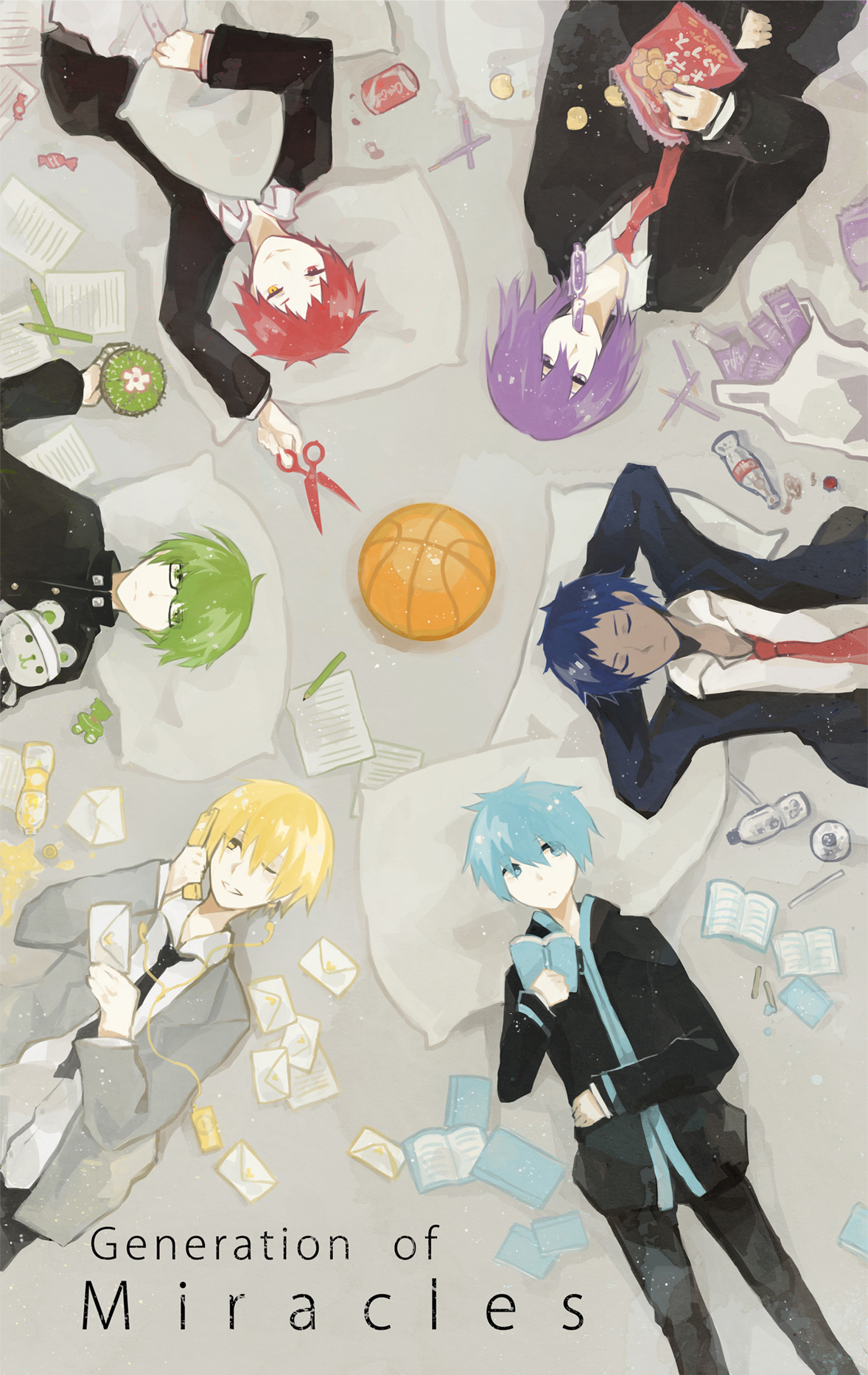generation of miracles aomine - photo #26