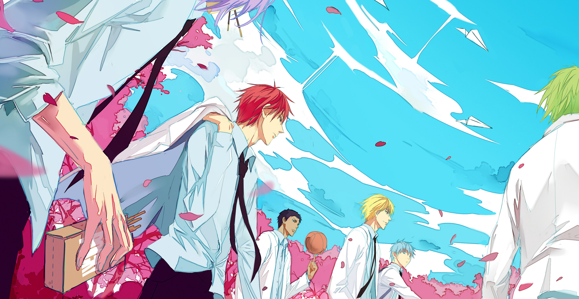 Kiseki no sedai generation of miracles wallpaper page 2 kiseki no sedai download kiseki no sedai image voltagebd Image collections