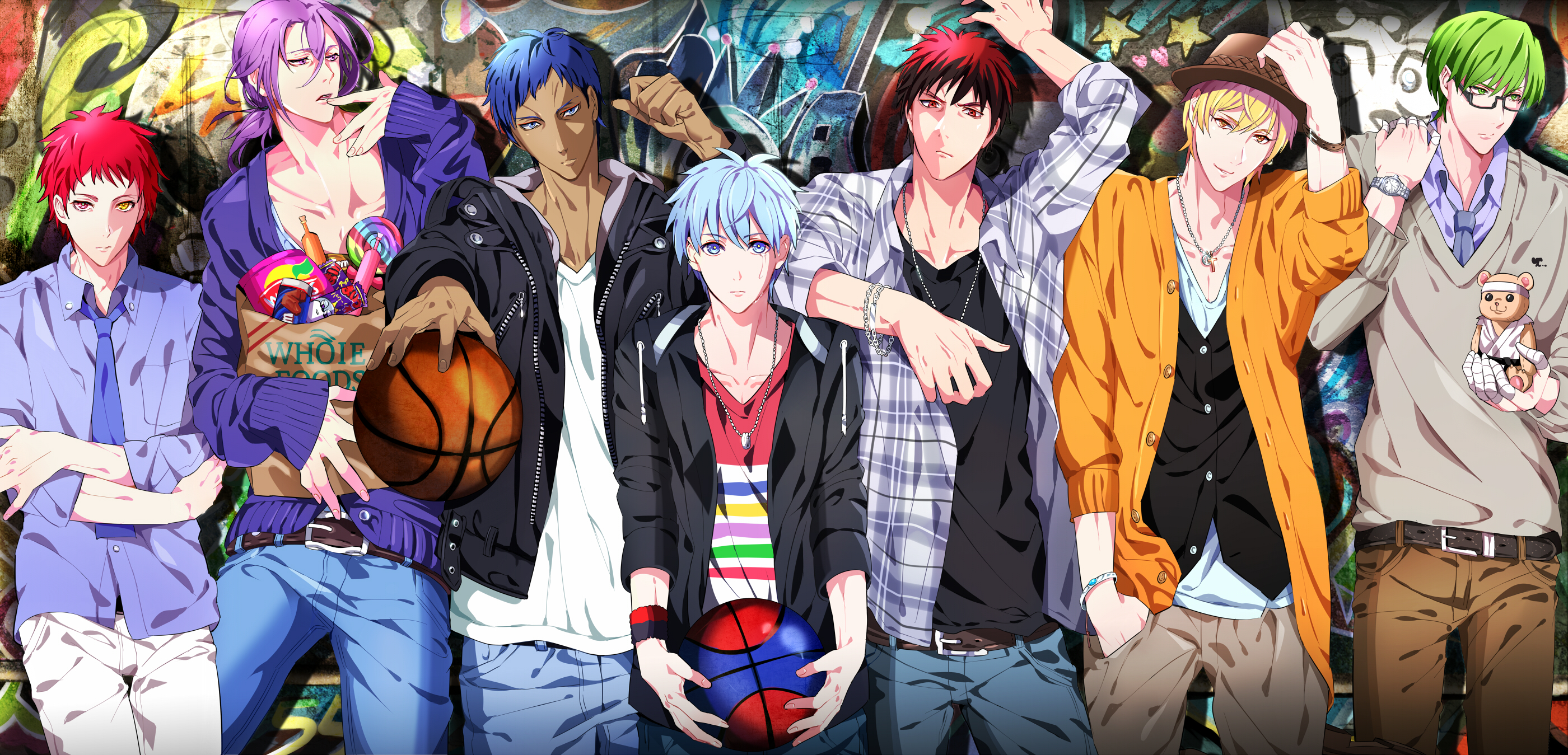 Kuroko no basuke kurokos basketball zerochan anime image board generation of miracles download kiseki no sedai image voltagebd Image collections