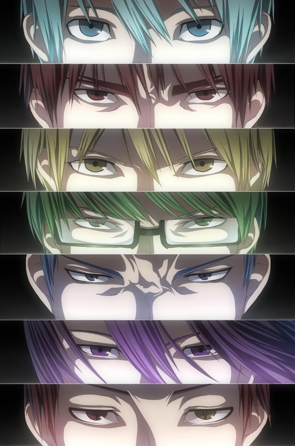 Tags Anime Hakura Kusa Kuroko No Basuke Midorima Shintarou Aomine Daiki