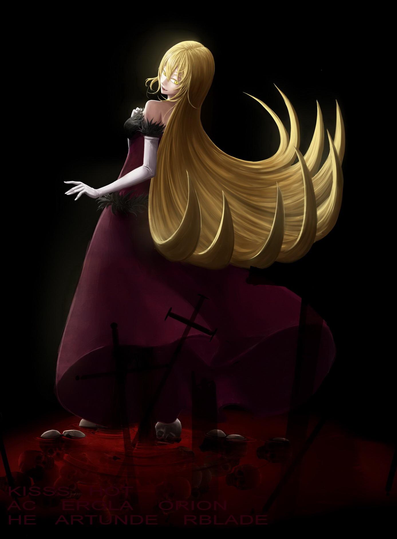 ... Anime, Darkers, Monogatari, Kiss-shot Acerola-orion Heart-under-blade
