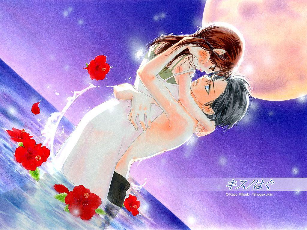 kiss/hug - mitsuki kako - zerochan anime image board