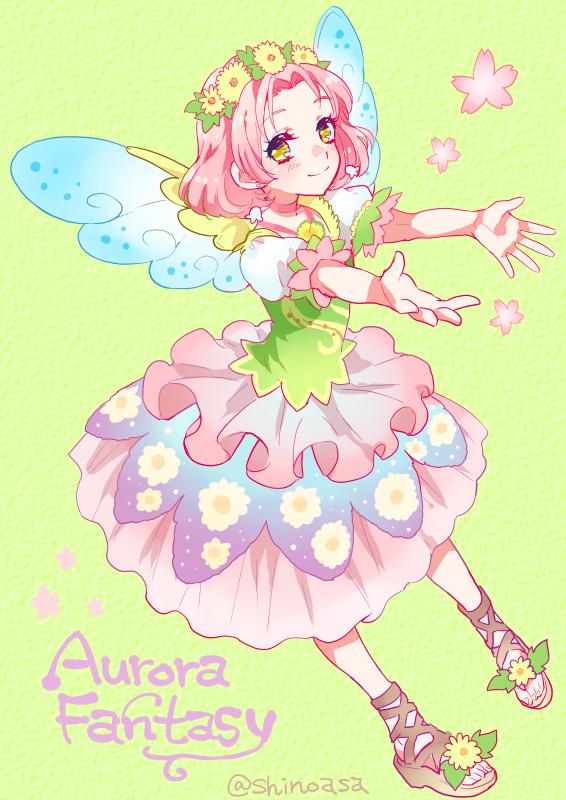 Tags: Anime, Shinoasa, Aikatsu!, Kitaouji Sakura, Fanart, Fanart From Pixiv, Pixiv