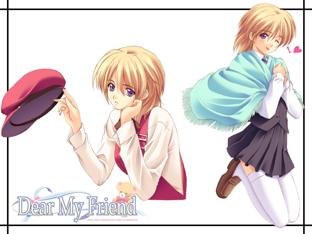 Kitazawa Miyako Dear My Friend Wallpaper 34841 Zerochan Anime