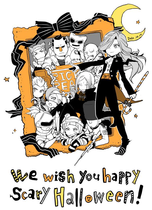 Tags: Anime, Pixiv Id 20096, Inazuma Eleven, Gary Links, Johnny Gascoigne, Peter Cole, Freddy Mc Queen, Valtinas Edgar, Edge Ripper, Eric Purpleton, Lance Rotten, Philip Owen, Paul Appleton