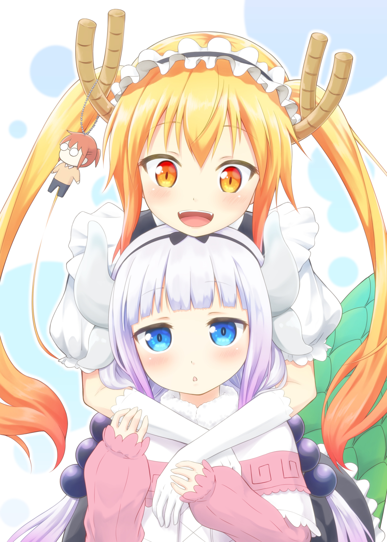 Anime Wallpapers Kobayashi-san Chi no Maid Dragon HD 4K Download For Mobile iPhone & PC