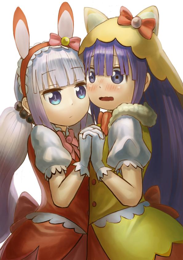 Tags: Anime, Pixiv Id 18997947, Kobayashi-san Chi no Maid Dragon, Magatsuchi Shouta, Kanna Kamui, PNG Conversion, Miss Kobayashi's Dragon Maid