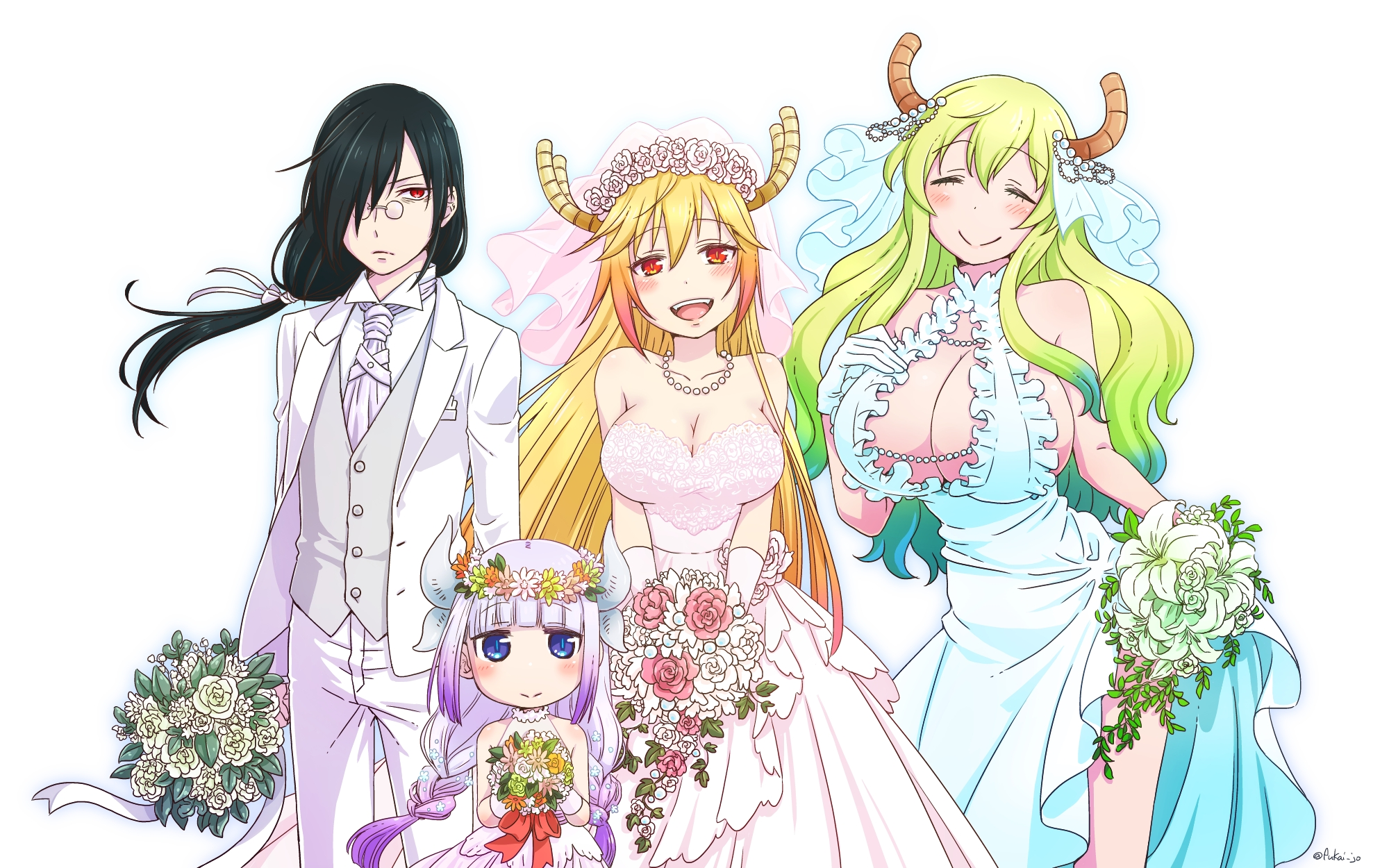 Kobayashi San Chi No Maid Dragon Miss Kobayashi S Dragon Maid Hd