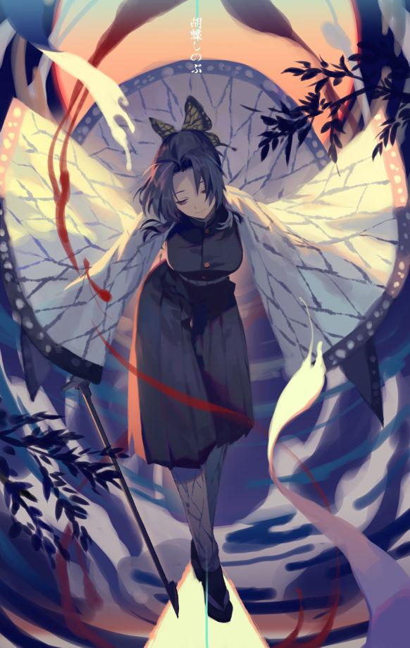 Tags: Anime, Yama Kawa, Kimetsu no Yaiba, Kochou Shinobu, Pixiv, Fanart, Fanart From Pixiv