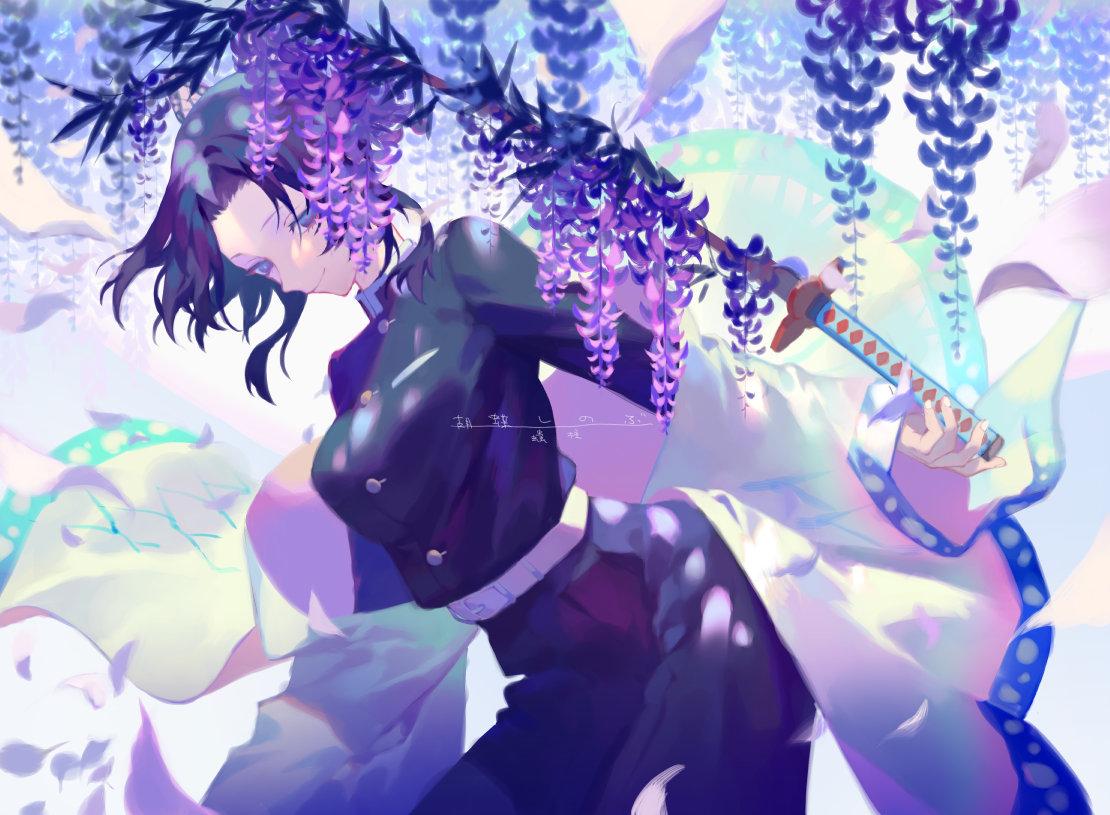 Kochou Shinobu Kimetsu No Yaiba Image 2347078 Zerochan Anime Image Board
