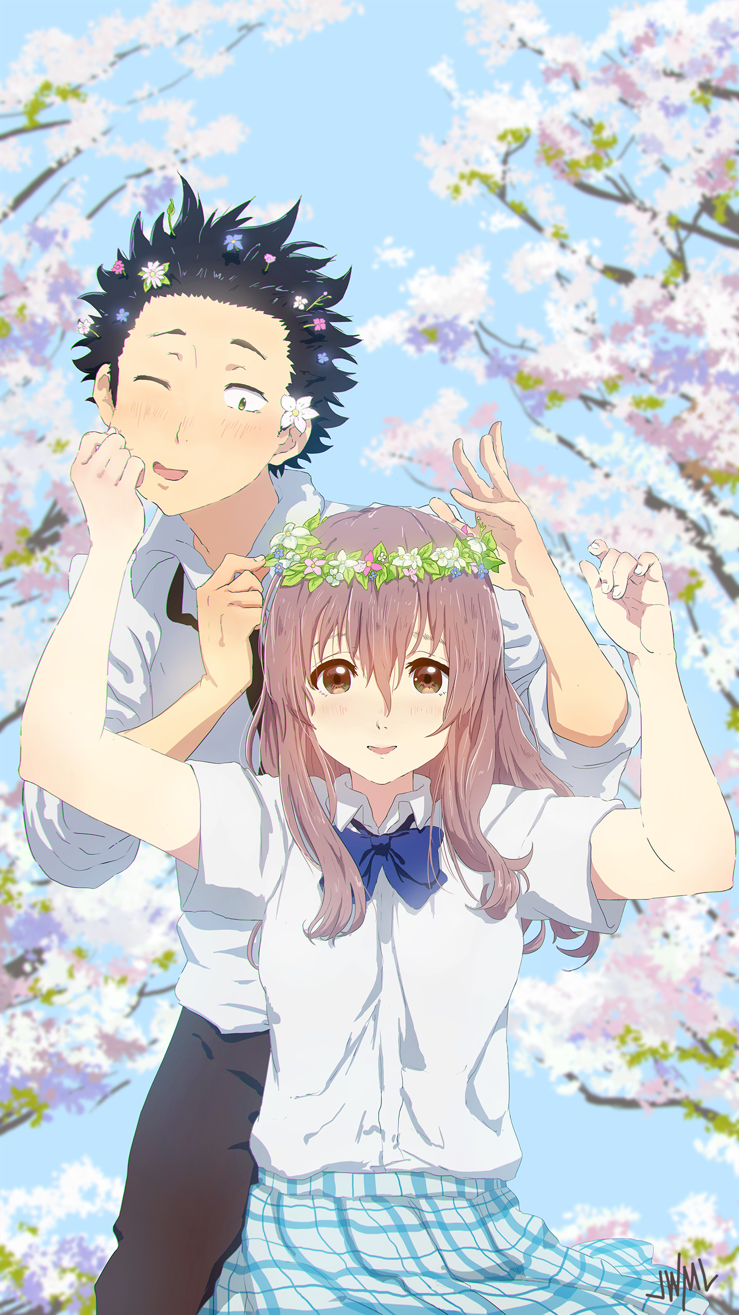 Koe no katachi image 2119458 zerochan anime image board for Koi no katachi