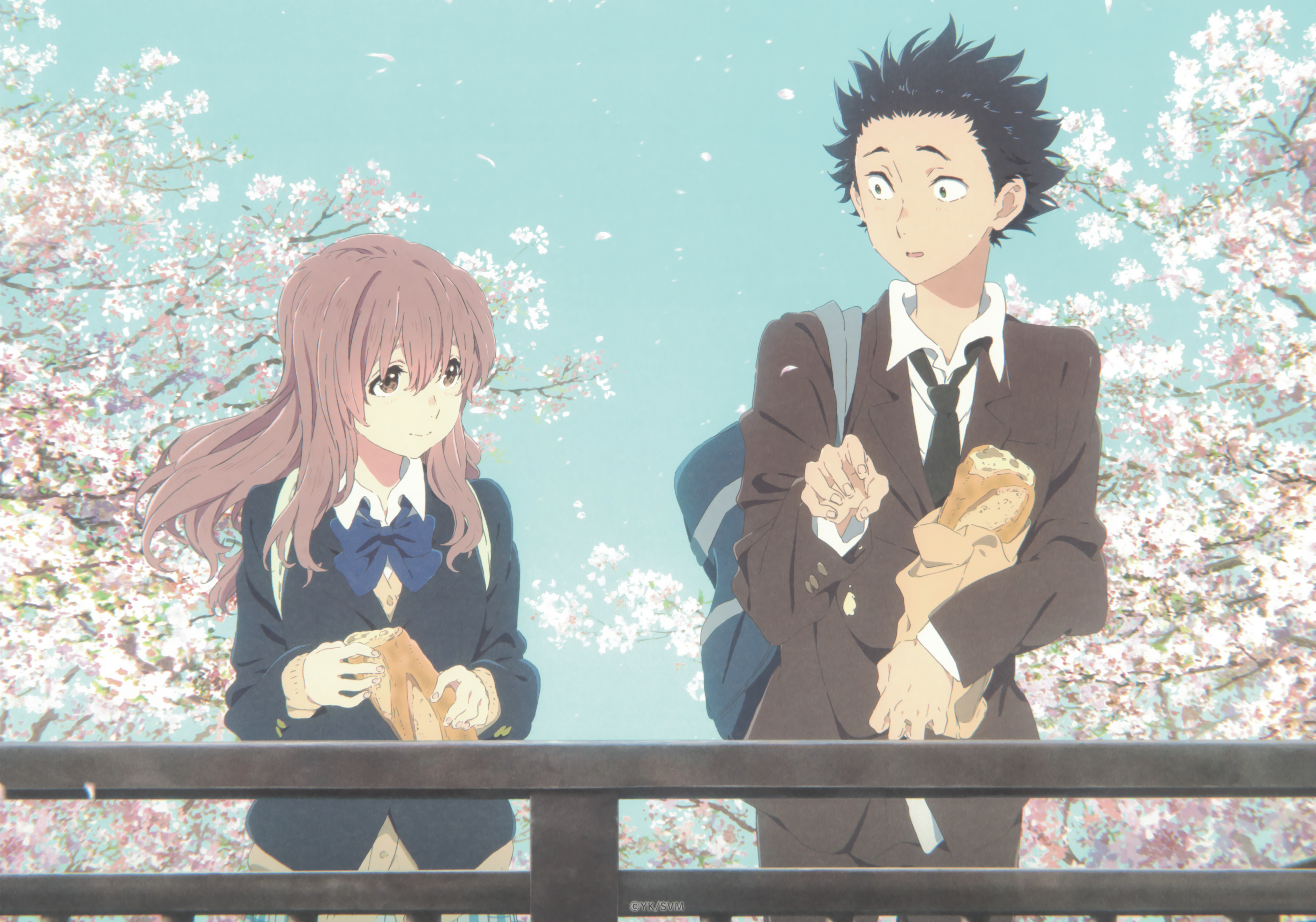 Koe no Katachi (picture from zerochan.net)