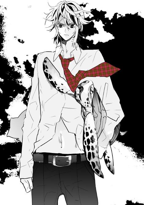 Tags: Anime, Pixiv Id 173226, Shiki, Koide Natsuno, Turtle, Pixiv, Fanart From Pixiv, Fanart