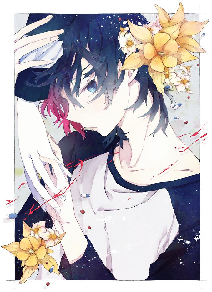 Tags: Anime, Minmin Nemui, Shiki, Koide Natsuno, Pixiv, Mobile Wallpaper, Fanart