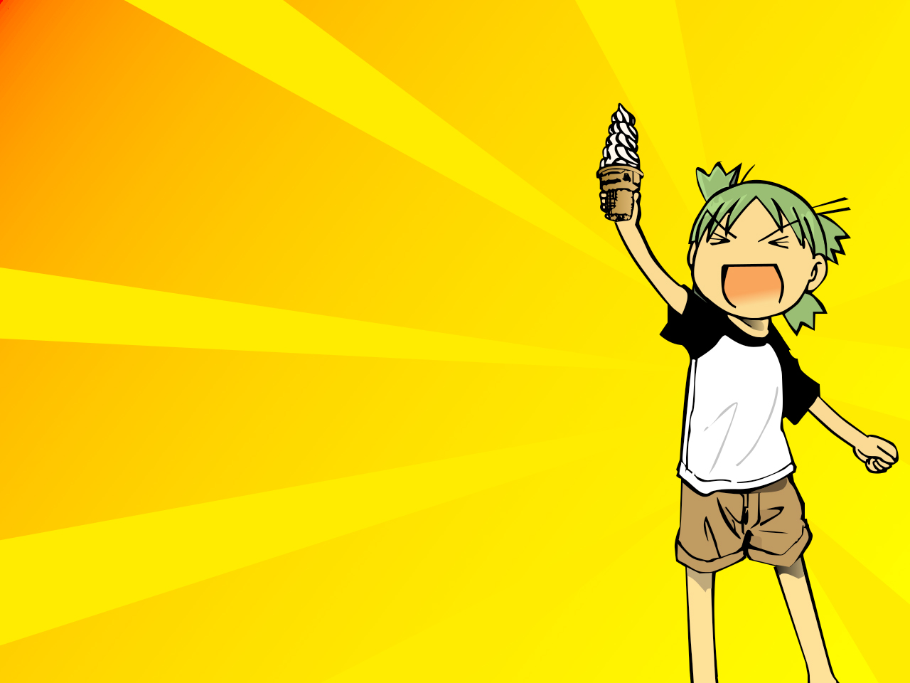 Anime Wallpapers Yotsuba&! HD 4K Download For Mobile iPhone & PC