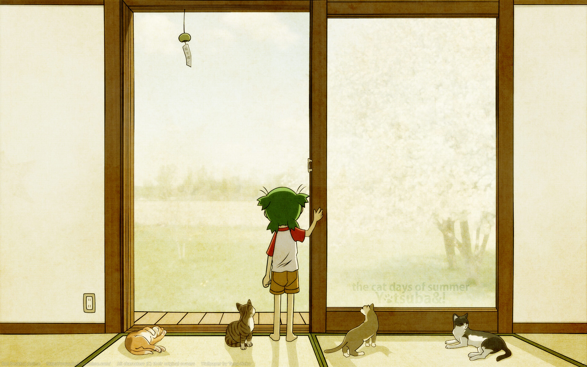 Yotsuba wallpaper | YOTSUBA &- ! | Pinterest | Wallpaper, Manga and ...