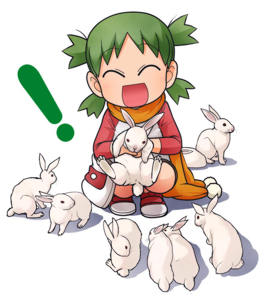 Yotsuba et les lapins