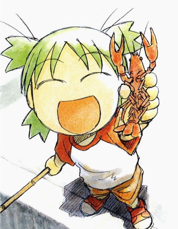 Tags: Anime, Azuma Kiyohiko, Yotsuba&!, Yotsuba (Sister Princess), Koiwai Yotsuba, Quad Tails, Official Art