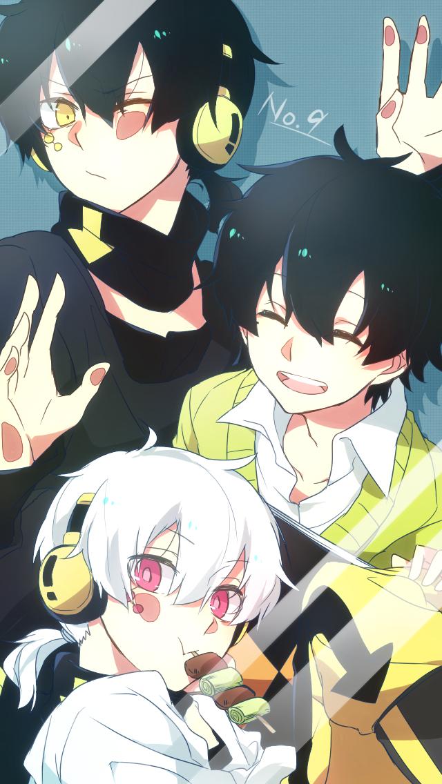 Tags: Anime, Asuna (Pixiv2468371), Kagerou Project, Dark Konoha, Kokonose