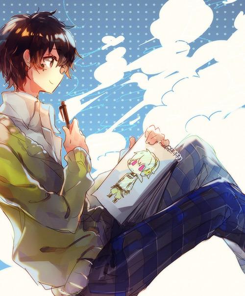 Tags: Anime, Namie-kun, Kagerou Project, Kokonose