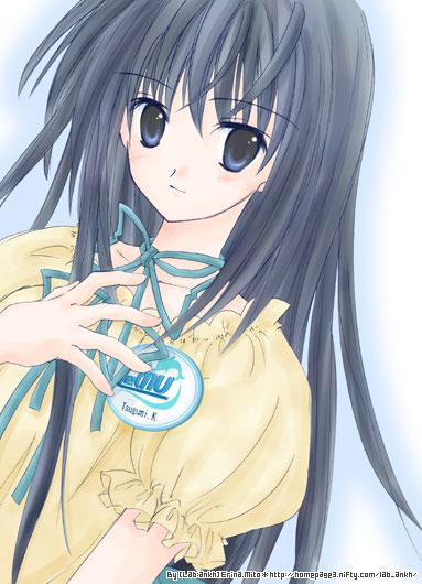 Tags: Anime, Mito Erina, Cyberfront, Ever17: Out of Infinity, Komachi Tsugumi