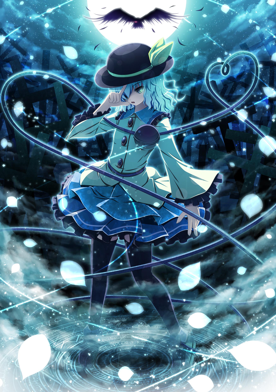 Komeiji Koishi Koishi Komeiji Mobile Wallpaper Zerochan Anime
