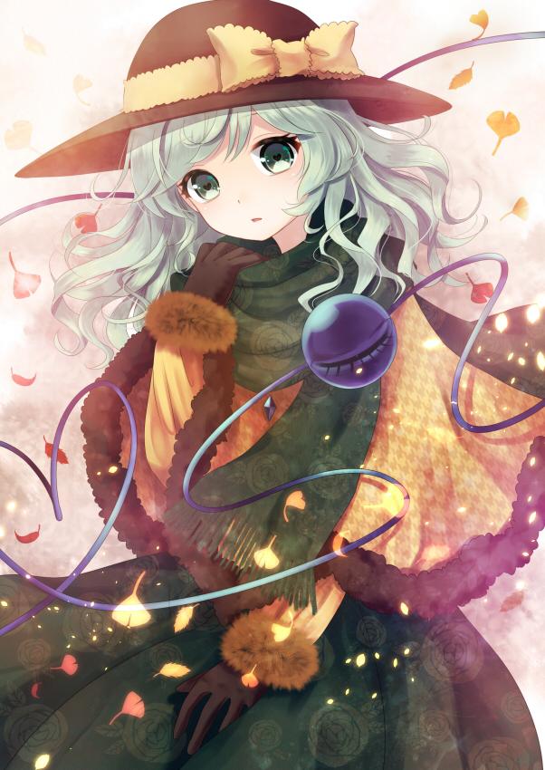 Tags: Anime, Nunucco, Touhou, Komeiji Koishi, Eyeball, Mobile Wallpaper, Koishi Komeiji