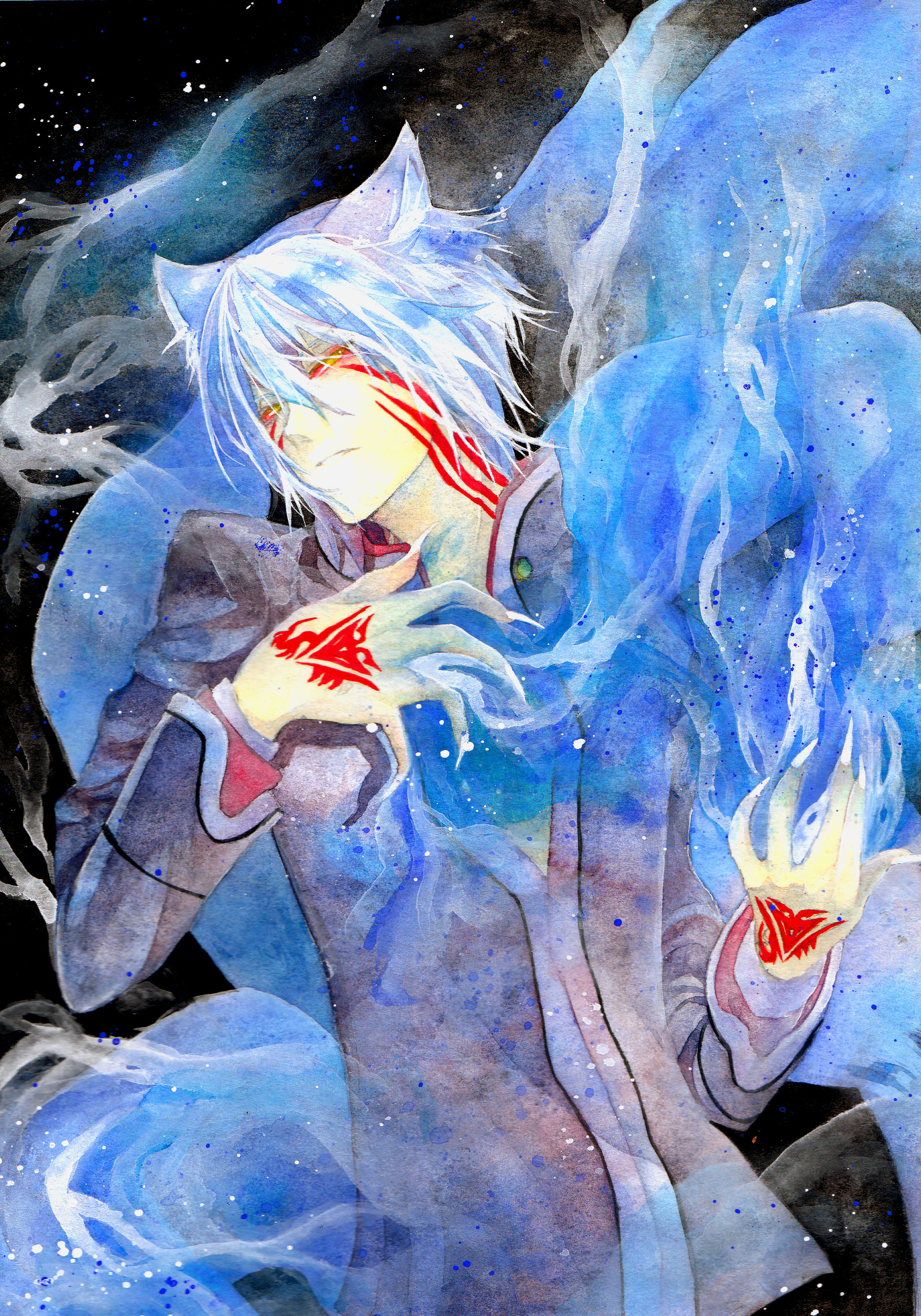 Hiiro no Kakera (Scarlet Fragments), Fanart - Zerochan ...