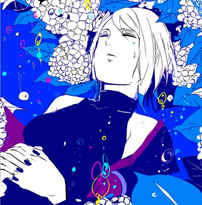 Tags: Anime, Pixiv Id 94282, NARUTO, Konan, Labret Piercing, Sketch, Pixiv