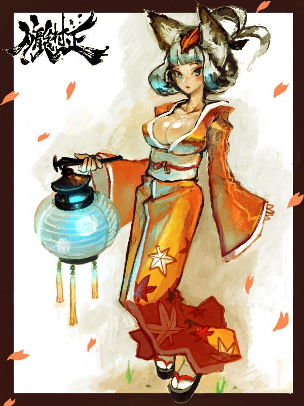 Tags: Anime, Vanillaware, Oboro Muramasa, Kongiku