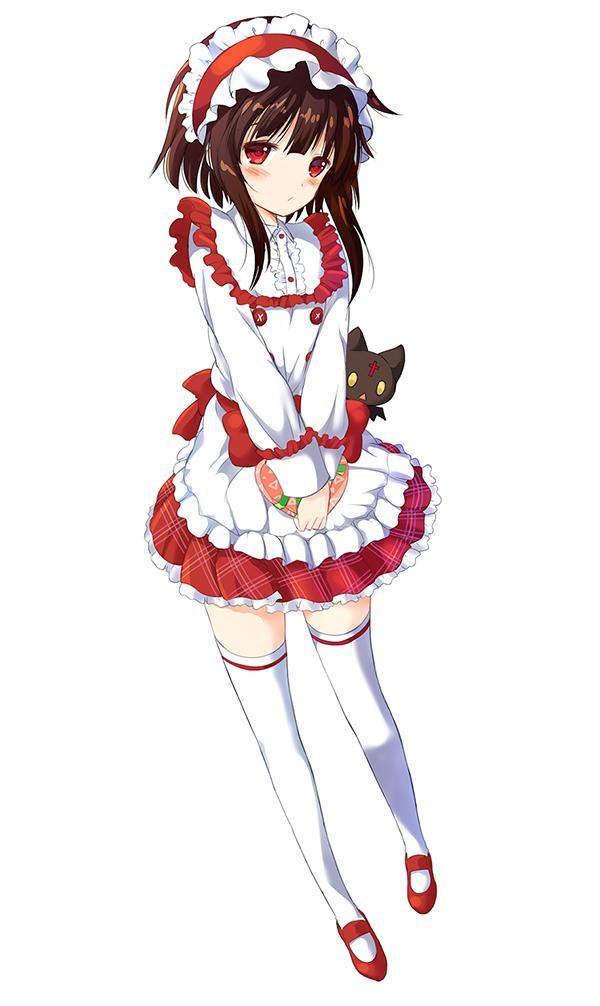 Tags: Anime, Watari Masahito, Kono Subarashii Sekai ni Shukufuku wo!, Chomusuke (KonoSuba), Megumin, Pixiv