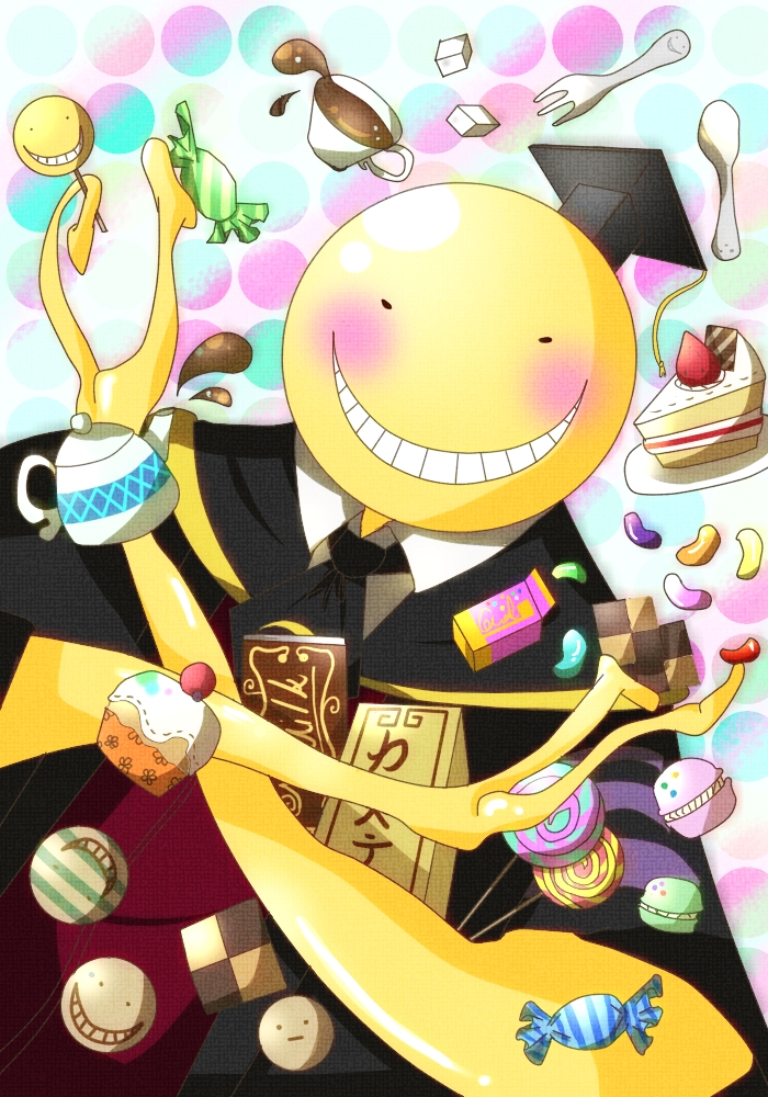 Koro Sensei Ansatsu Kyoushitsu Image 1487899 Watermelon Wallpaper Rainbow Find Free HD for Desktop [freshlhys.tk]