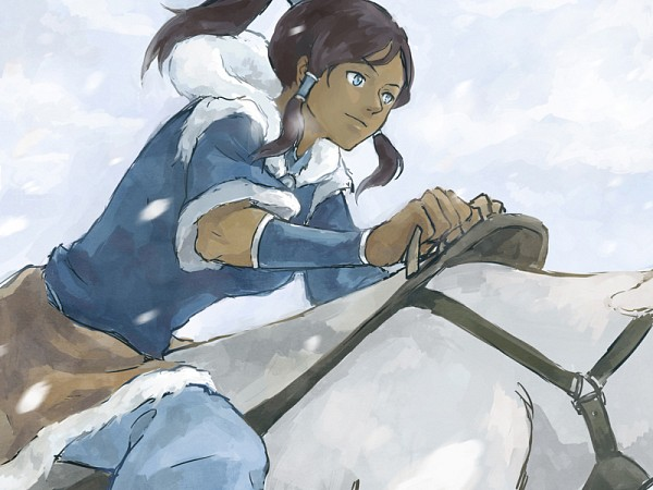 Tags: Anime, Moyuu, Avatar: The Legend of Korra, Korra, Naga (Legend of Korra)