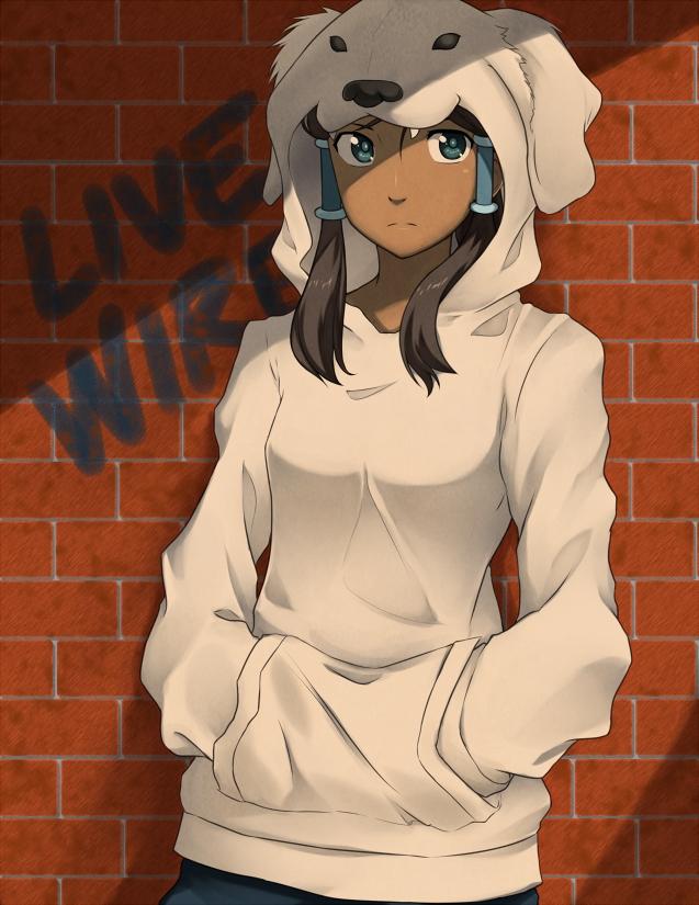 Tags: Anime, Mirakurunaito, Avatar: The Legend of Korra, Korra, Brick Wall, Fanart From DeviantART, deviantART, Fanart