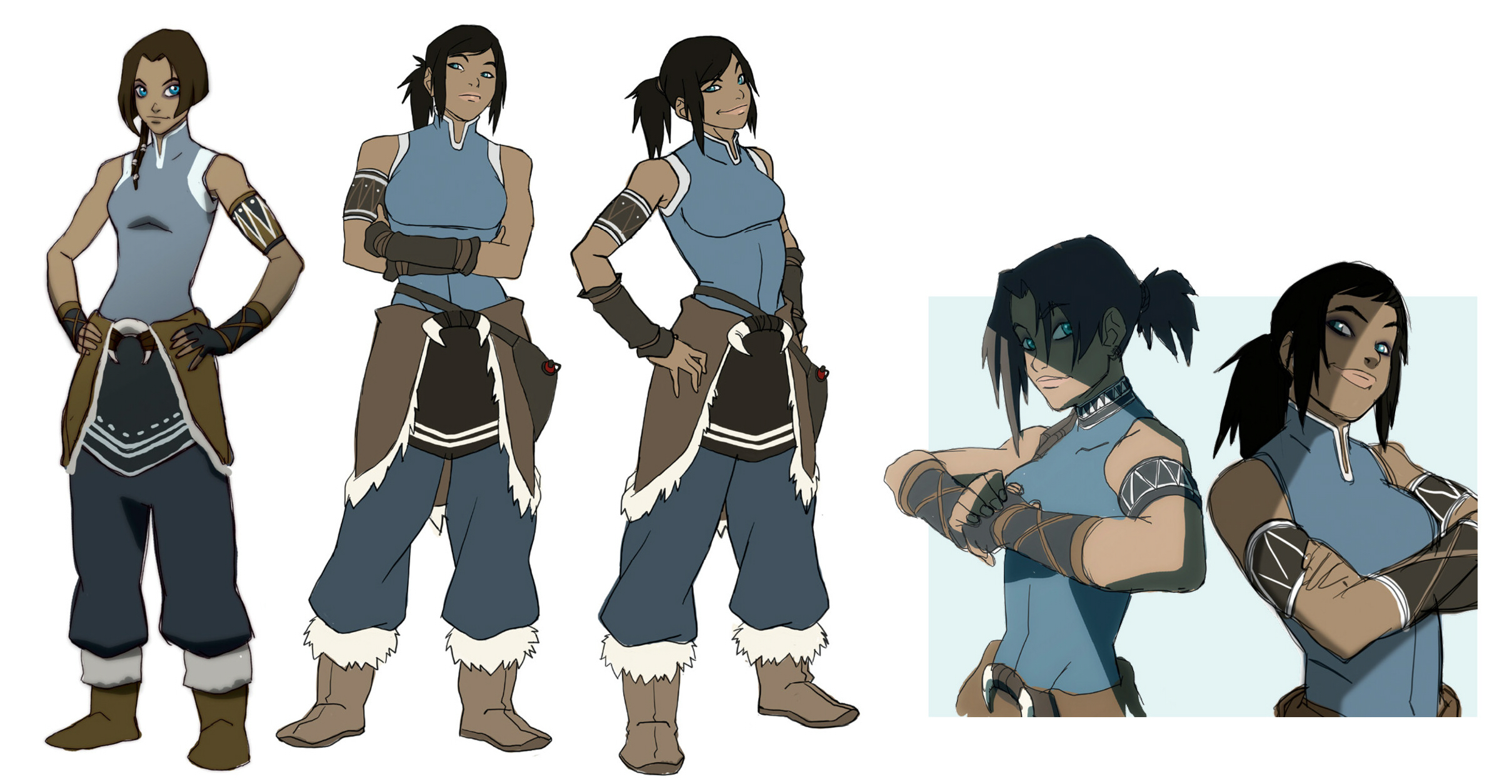 avatar character sheet korra - avatar: the legend of korra - image #