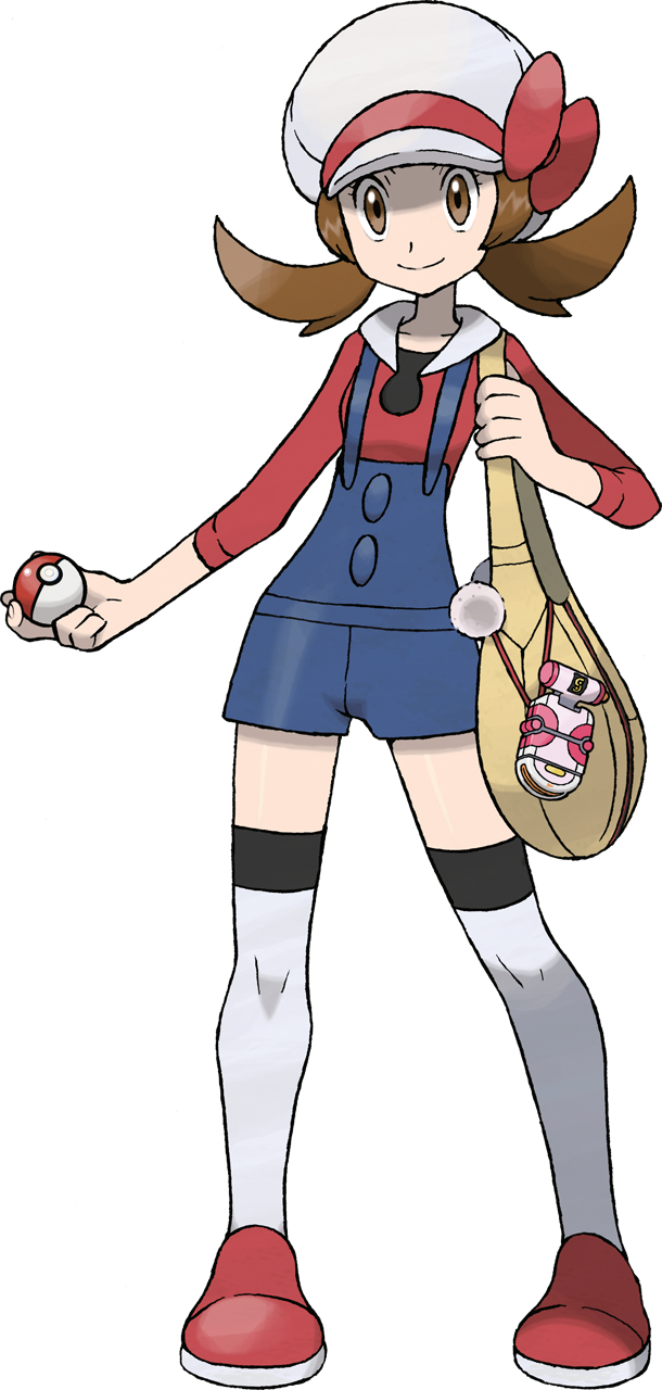 Tags: Anime, Sugimori Ken, Nintendo, GAME FREAK, Pokémon Gold & Silver, Pokémon, Kotone (Pokémon), Cabbie Hat, Official Art, Cover Image, PNG Conversion