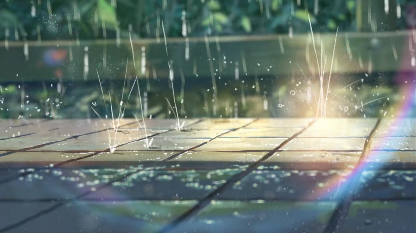 Animated rain background gif