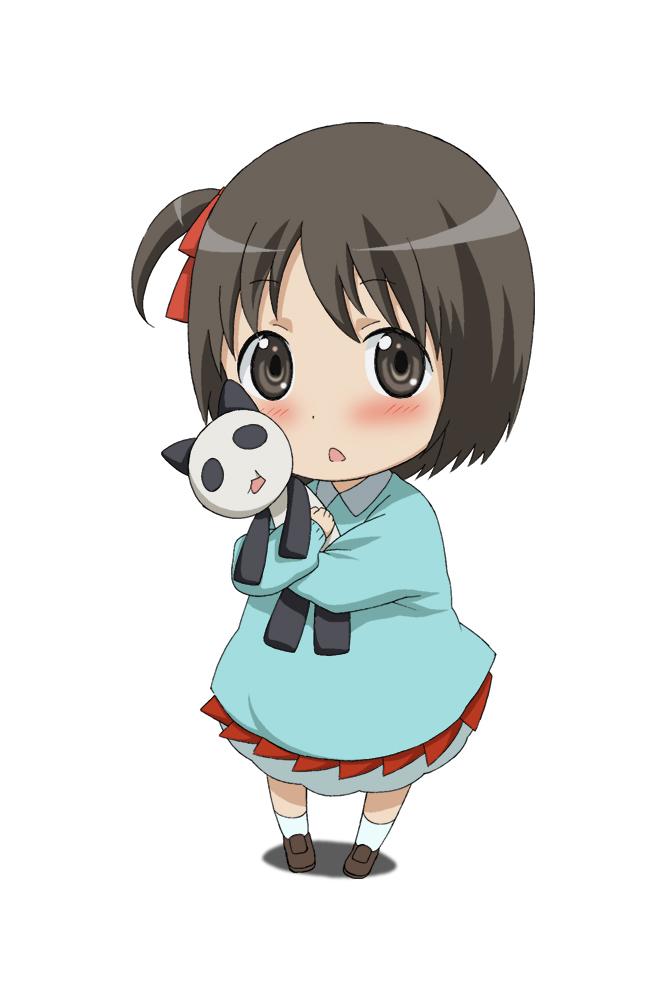 Tags: Anime, Pixiv Id 46379, Hanamaru Kindergarten, Koume (Hanamaru), Hugging Toy, Pixiv