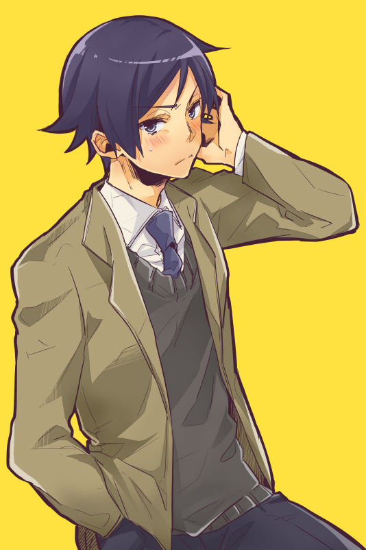 Tags: Anime, Sato Unta, Ore no Imouto ga Konna ni Kawaii Wake ga Nai, Kousaka Kyousuke