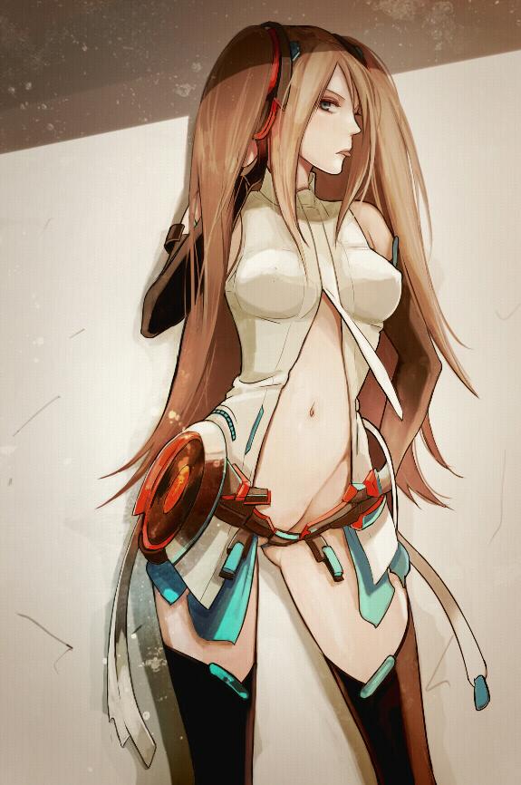 Tags: Anime, Koutarou (Artist), Hatsune Miku (Cosplay), Original, Mobile Wallpaper, Append