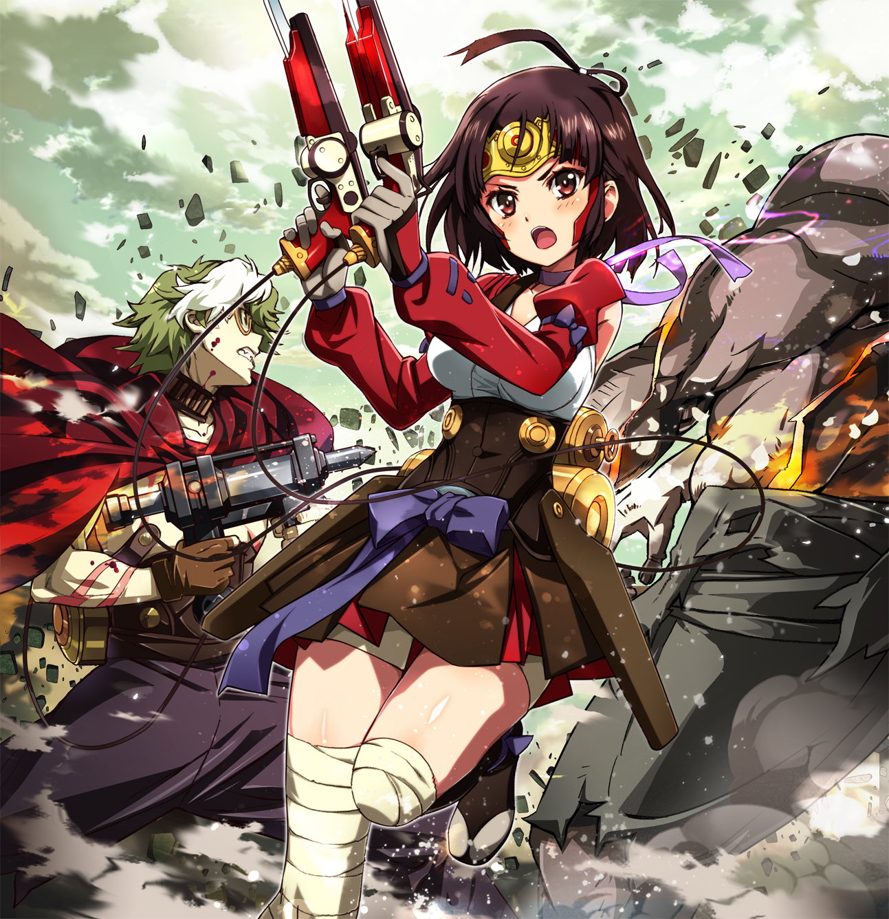 Kết quả hình ảnh cho Koutetsujou no Kabaneri anime