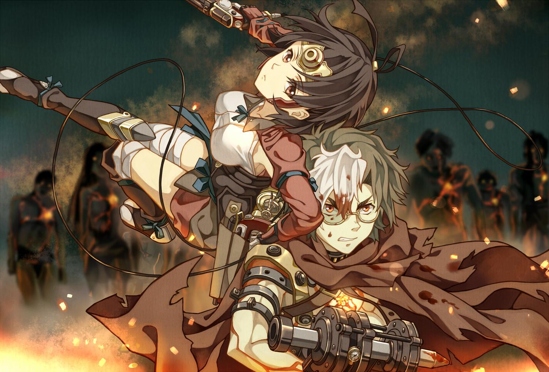 Koutetsujou no Kabaneri - Anime mới đáng để mong chờ năm 2018