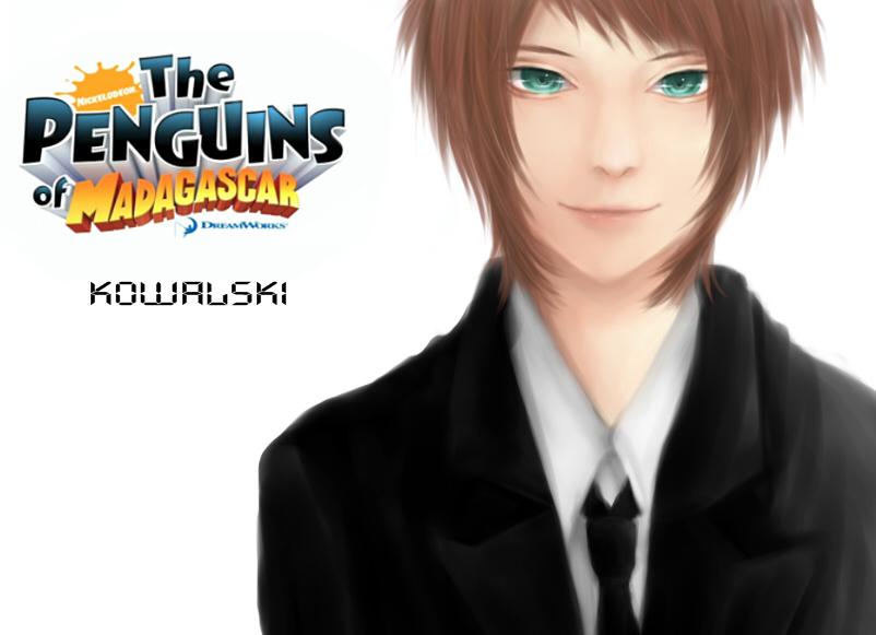 Anime the penguins of madagascar kowalski the penguins of madagascar