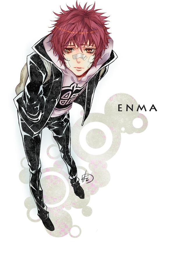 Tags: Anime, Kaguyuzu, Katekyo Hitman REBORN!, Kozato Enma, Mobile Wallpaper