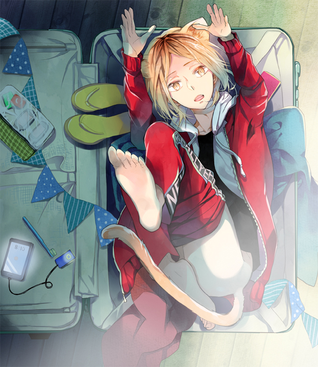 Tags: Anime, hash, Haikyuu!!, Kozume Kenma, Fanart From Pixiv, Pixiv, Fanart