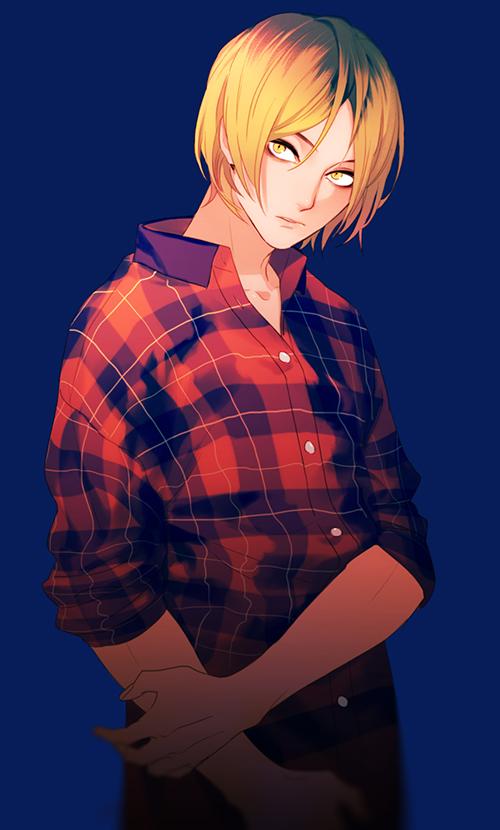 Tags: Anime, Pixiv Id 11937939, Haikyuu!!, Kozume Kenma, Fanart From Pixiv, Mobile Wallpaper, Pixiv, Fanart