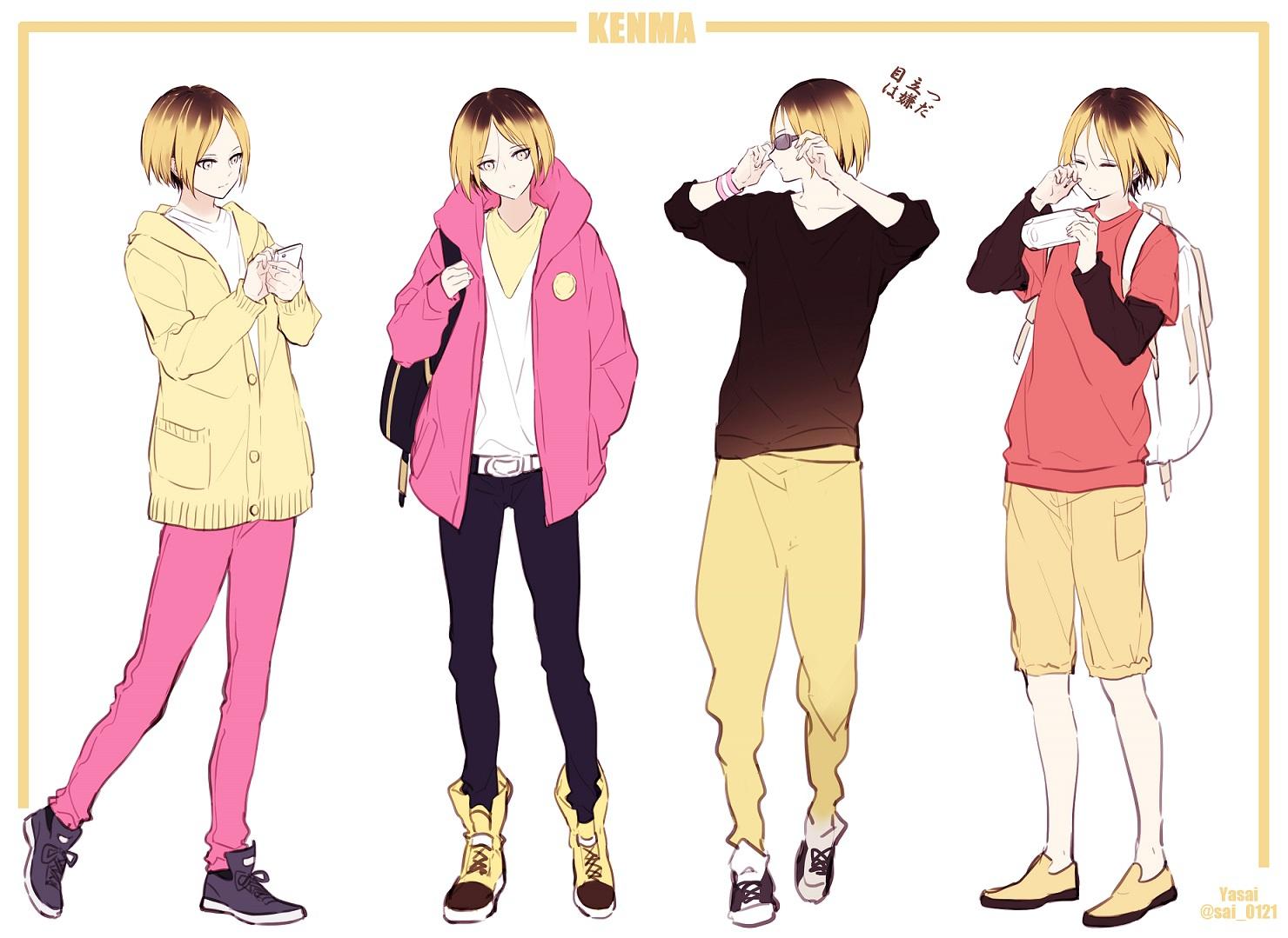 Kozume Kenma Haikyuu Zerochan Anime Image Board