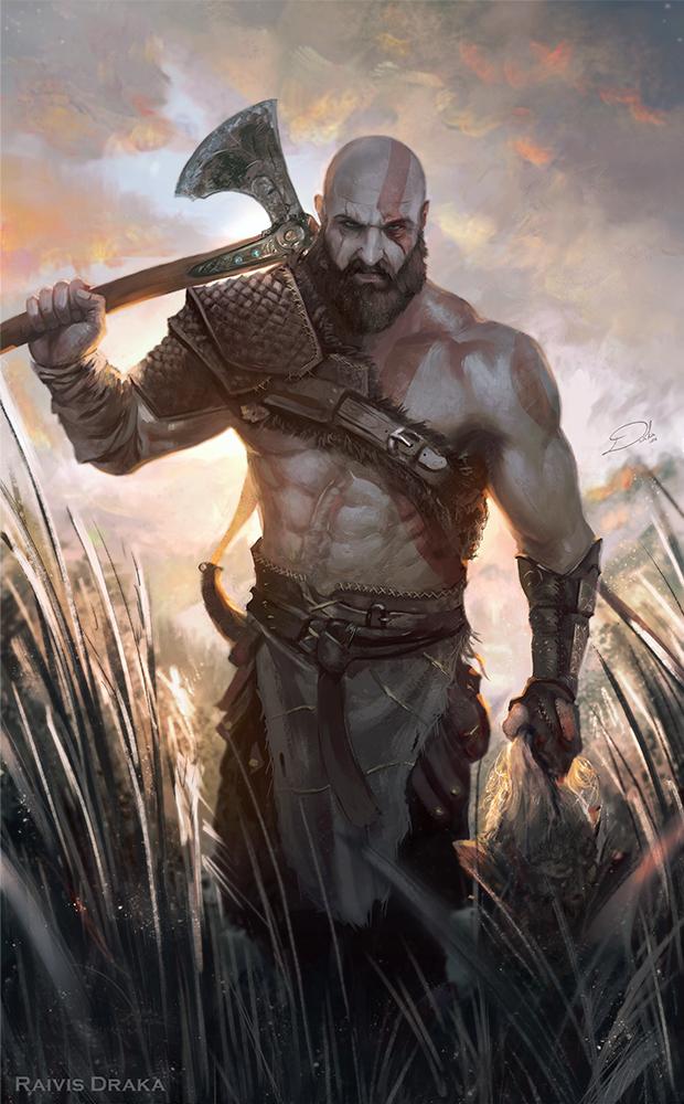 Kratos God Of War Image 2316021 Zerochan Anime Image